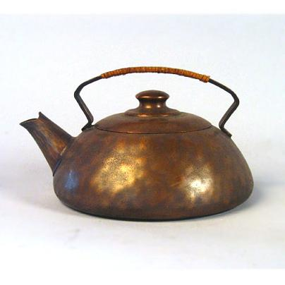 Copper teapot fit