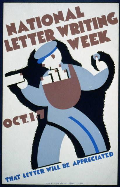 WPA Letter writing week