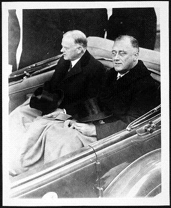 FDR 1932 inauguration