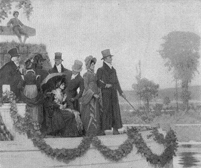 Erie canal opening