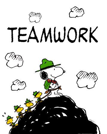 Peanuts Teamwork
