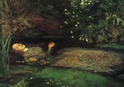 Drowning ophelia