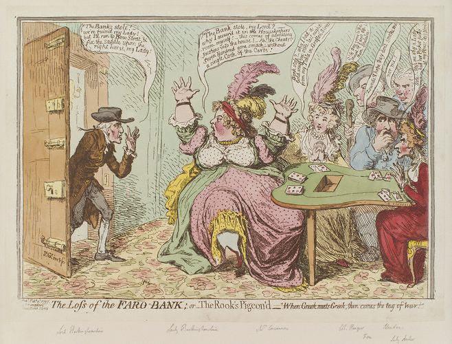 18th century gamblers