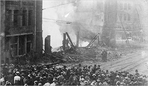 La times building bombing