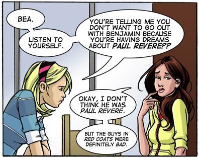Paul-revere-in-comic