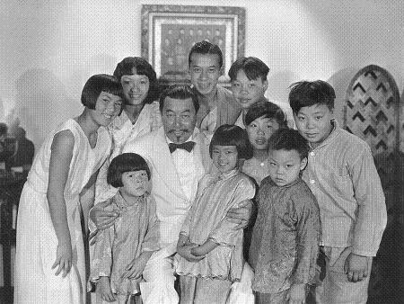Charlie Chan and family