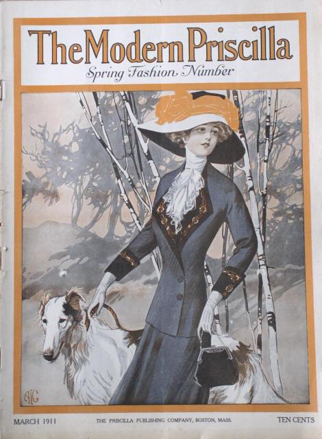 1911 Fashion Modern Priscilla