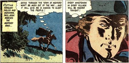Paul revere comic book