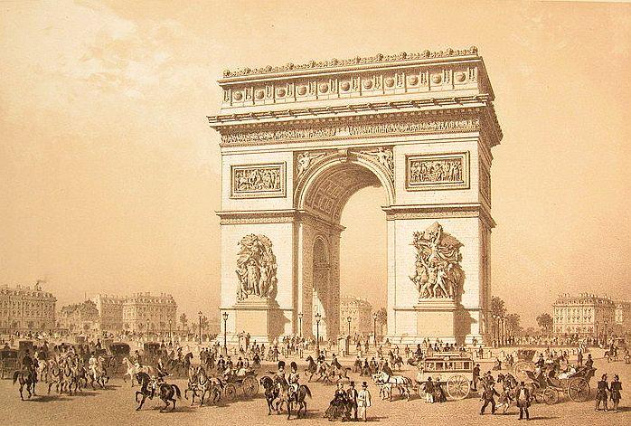 Place de letoile 1830