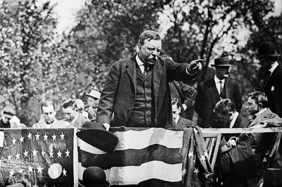Teddy roosevelt speaks