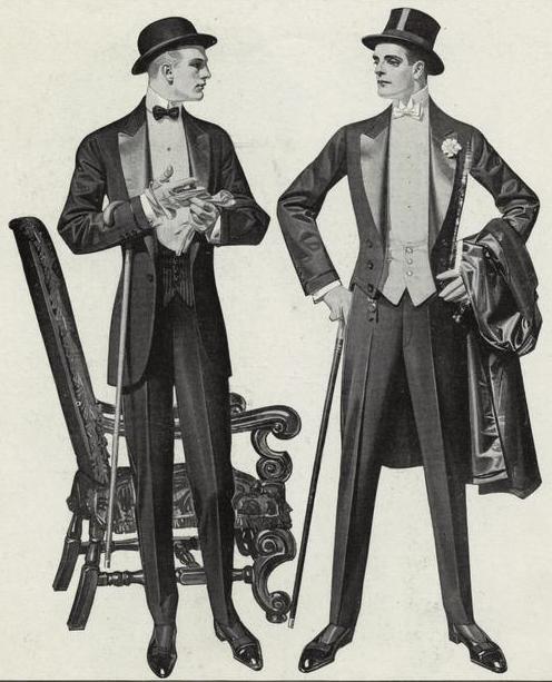 Mens evening wear