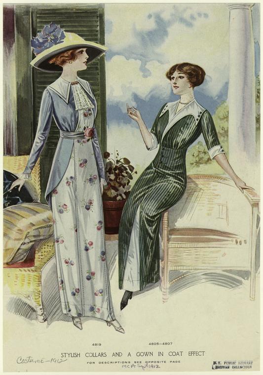 1912 suit like dresses