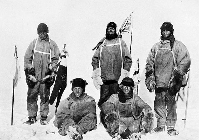 Scott's_party_at_the_South_Pole_January 1912