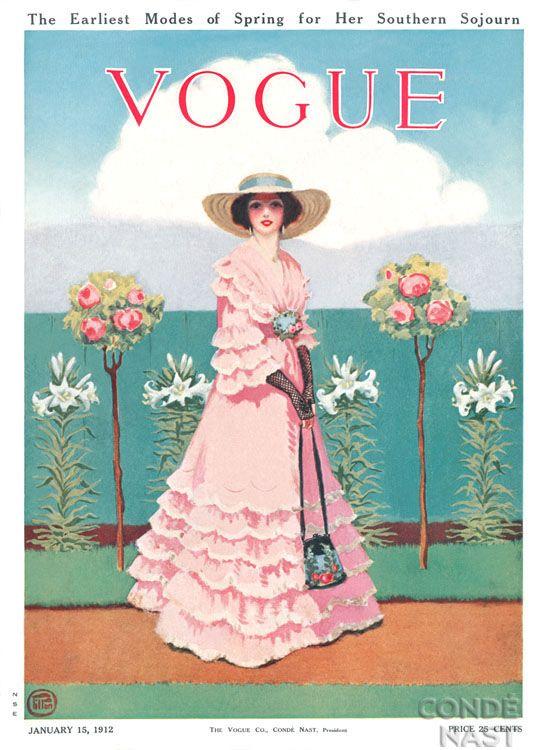 Vogue  January 1912