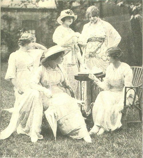 1912 lucile duff gordon teagowns